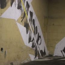 Blaqk, Outdoor Urban Art Festival, Moving Forward, Dogana